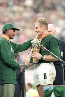 Mandela, Rugby World Cup Final, 1995